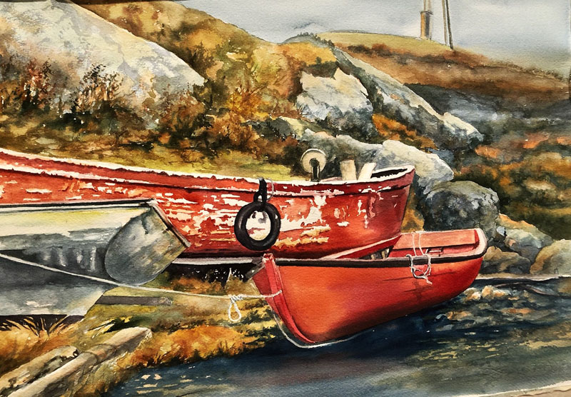 boats at peggys cove800